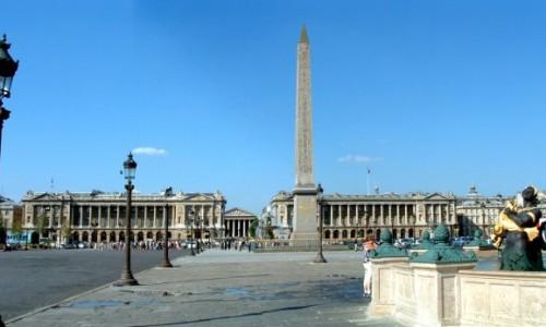 フランス・パリのコンコルド広場