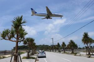 瀬長島の飛行機
