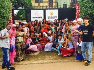 ギニアの女性支援活動