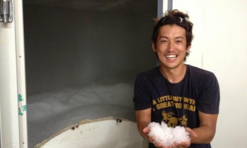 ギニアの製氷工場