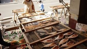 沼津魚市場の干物