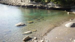 堂ヶ島の海