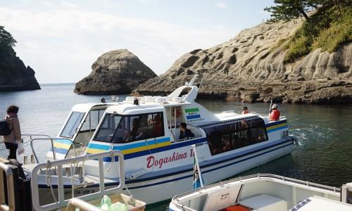 堂ヶ島クルーズのレンタルボート