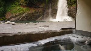 天城荘の露天風呂