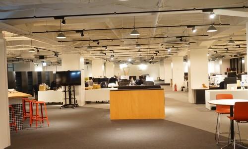 スマートニュース(smartnews)のオフィス写真