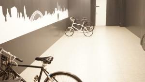 スマートニュース(smartnews)の自転車置き場