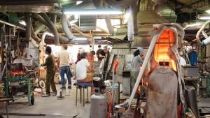 田島硝子の工場見学
