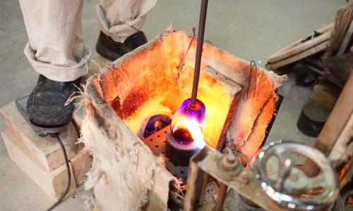 ガラス製造のプロセス