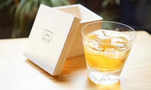 木箱付き富士山ロックグラス