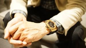 高倉豊さんが身につけているウブロの時計