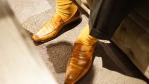 高倉豊さんのベルルッティの靴