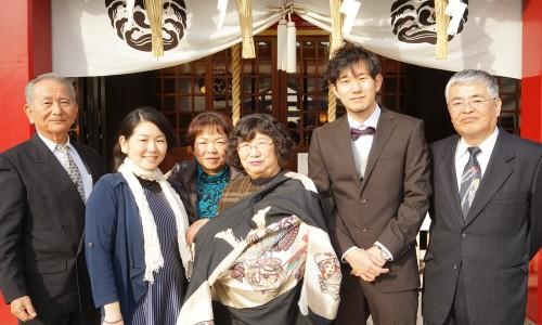 鶴見・潮田神社にお宮参りに行ってきた