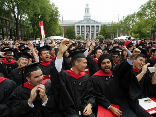 ハーバード大学に通うあげちん教授