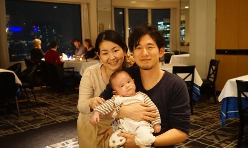 ホテルニューオータニ赤坂中村あきらファミリー