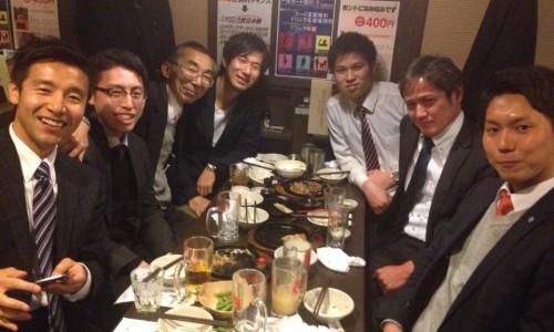 東京五反田、森部さん飲み会