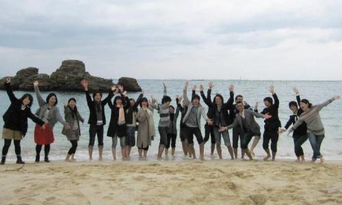 社員全員で沖縄旅行!
