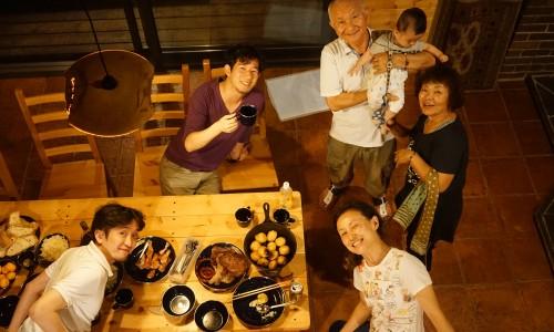 北軽井沢スィートグラスみんなで集合写真