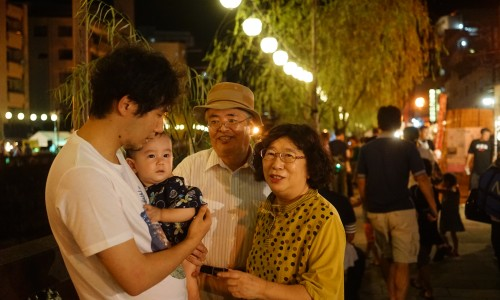 長崎夜市で写真撮影!