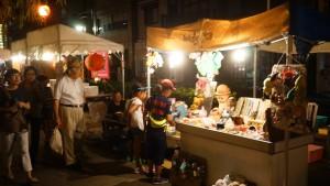 2016年長崎夜市の出店長崎夜市の出店