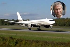 ロシアの億万長者ロマン・アブラモヴィッチ ボーイング767-33A