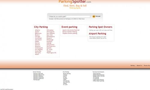 駐車場を貸し出す