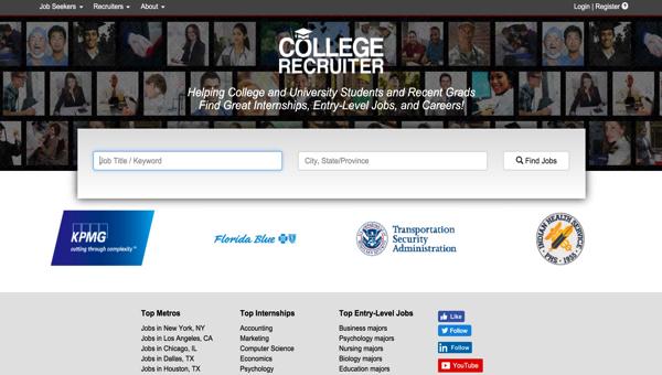 カレッジリクルーター(College Recruiter)