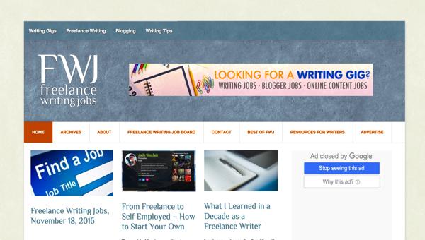 フリーランスライティングギグズ(Freelance Writing Gigs)