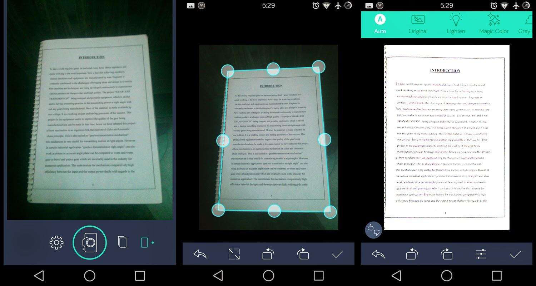 アンケート、レシート、領収書などの資料はアプリ「CamScanner」で撮影して、DropboxやGoogle Driveにそのまま保存!