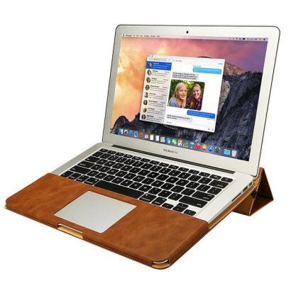 手作りPUレザー装着型MacBook12インチケースカバー