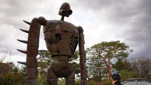 ジブリ美術館の巨神兵