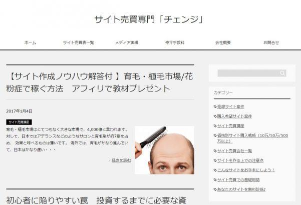 12.サイト売買専門『チェンジ』