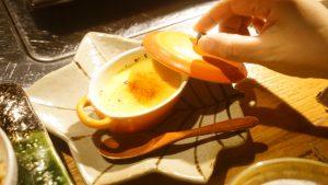 ウコンのクリームブリュレ