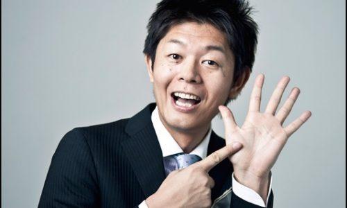 手相芸人の島田秀平。あげまん線を名付けた。