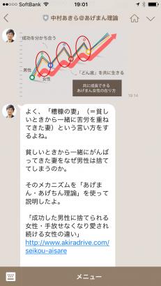 中村あきら@あげまん理論