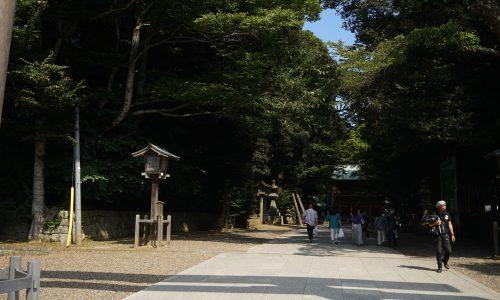 鹿島神宮の参道