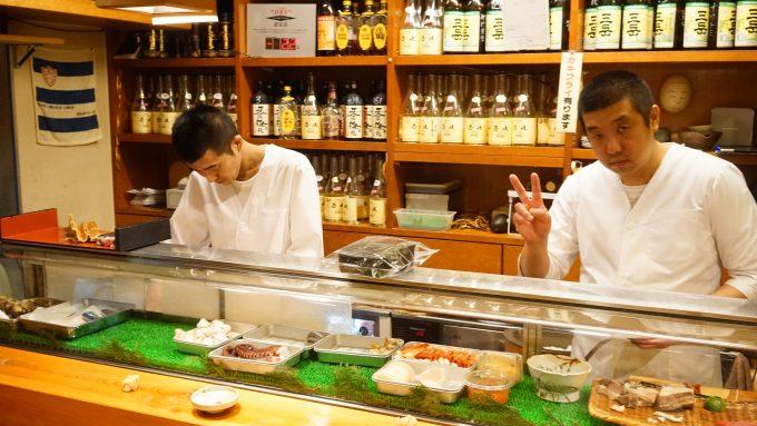 「長崎の味処 鮨・割烹さくらい」の板前さん大将