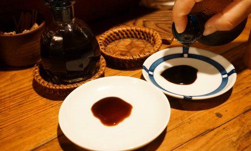 『御飯 (ごはん)』の醤油