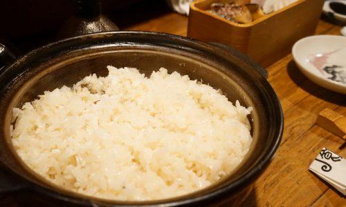 『御飯 (ごはん)』の土鍋で炊いた鯛めし