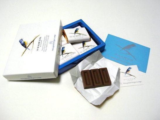 幸せを呼ぶ青い鳥 チョコレート