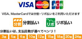 クレジットカード決済24回払い