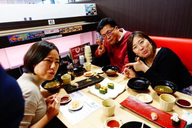 インストラクター合宿寿司