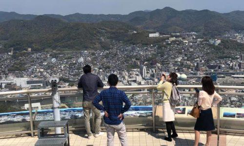 長崎稲佐山からの観光