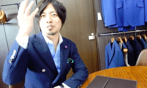ファッションスタイリストジャパンの西岡慎也さん