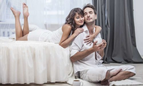 セックスは、パートナーの男性が自信をもつ最も簡単な行為